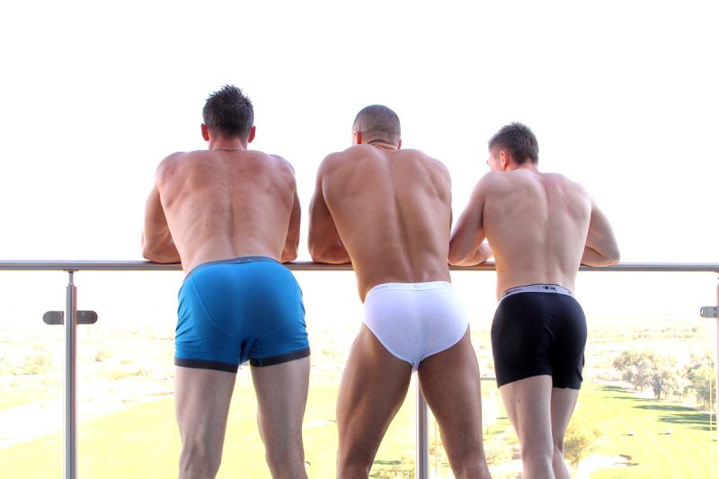 Sean Costin, Derek Jones and Jake Davis