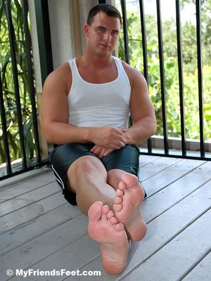 Jon's Socks & Feet