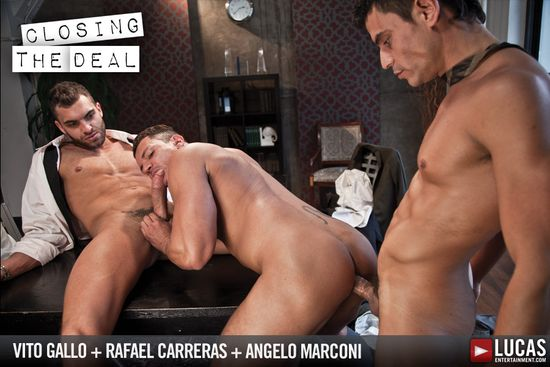 Vito Gallo, Angelo Marconi and Rafael Carreras in Gentlemen 09: Closing the Deal