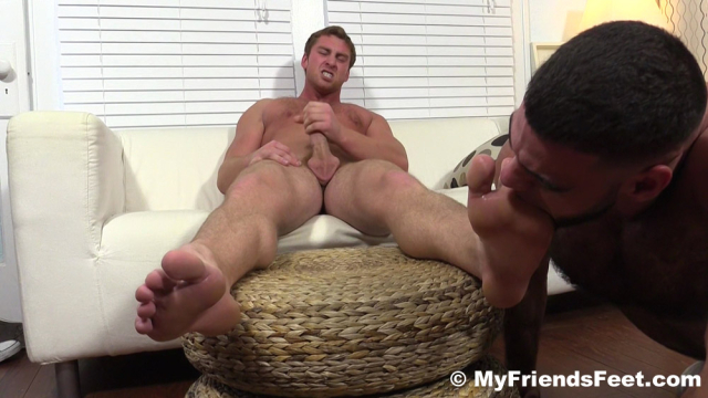 Ricky Larkin Worships Connor Maguire's Socks and Feet
