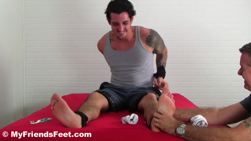Marine Laurent Tickled Naked