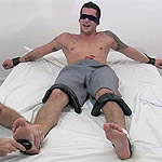 Laurent is Captured and Tickled Silly With Foot Worship