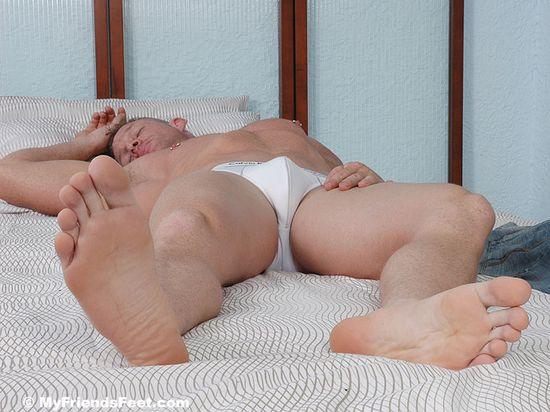 Dev's Masculine Feet