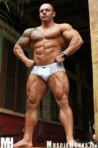 MuscleHunks Flint Stoker