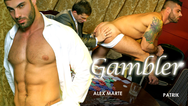 MenAtPlay Alex Marte and Patrik in Gambler