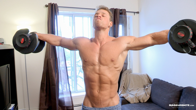 Maskurbate At Home With Brad