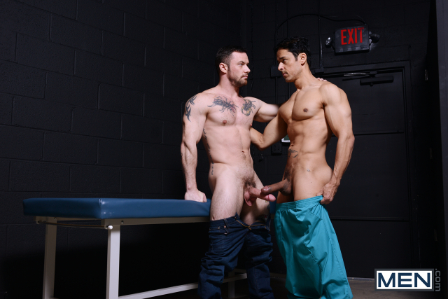 Rafael Alencar and Sergeant Miles