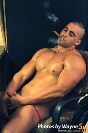 Smoking Hunks Mario