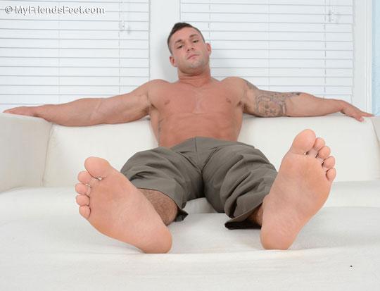 Brad Barnes' Size 10 Feet & Dress Socks