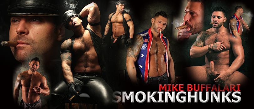 Smoking Hunks Mike Buffalari