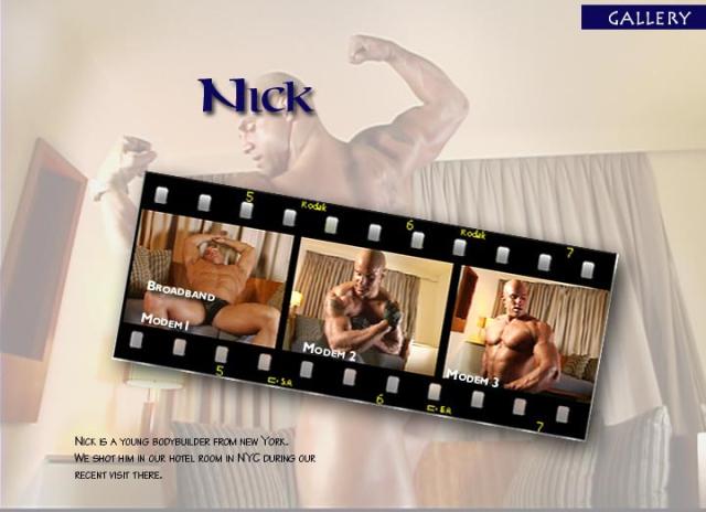 Muscle Worship Nick Cinema 319