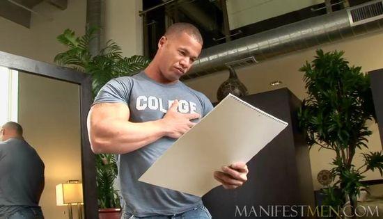 Manifest Men Matthew Rush in Studio 1010