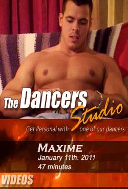 Nude Male Dancers Maxime