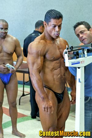Contest Muscle George Medrano