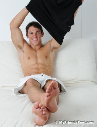 Josef's Flip-Flops and Size 11 Bare Feet - 49