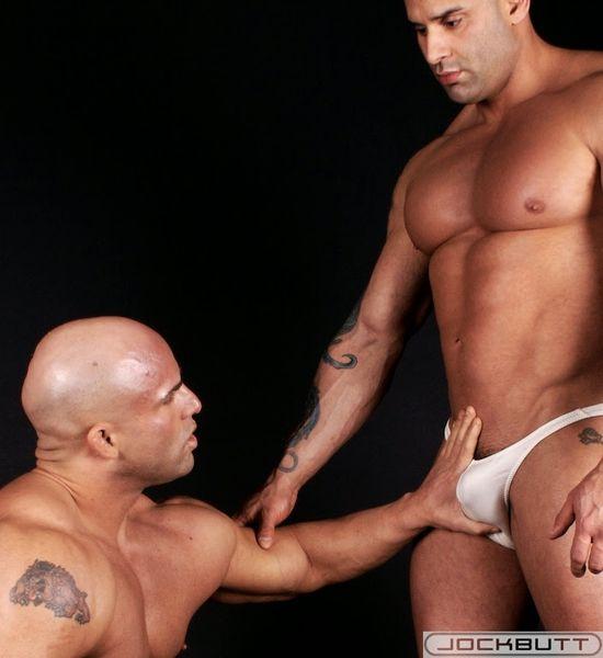 JockButt Peter Latz and Big Roger