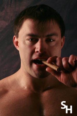 Smoking Hunks Tanek