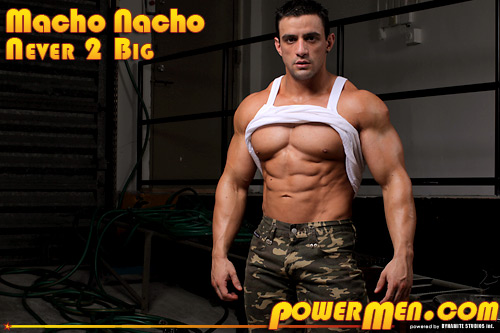 Powermen Macho Nacho