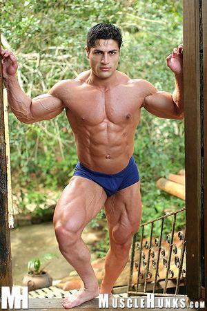 MuscleHunks Amerigo Jackson