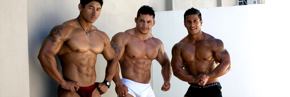 MuscleHunks Ko Ryu, Timmy Riordan & Bill Baker