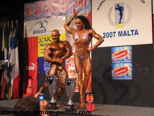 Marilandio Ponchet - 2007 NABBA World Championships