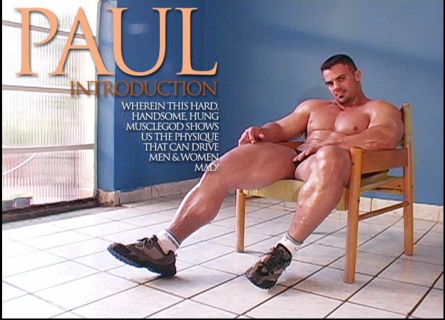Muscle Worship Paul Lima