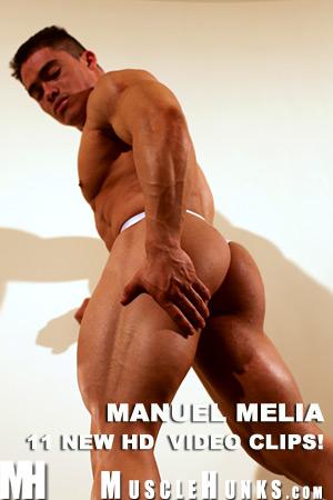 MuscleHunks Manuel Melia