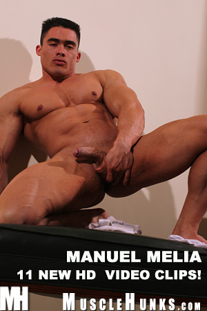 MuscleHunks Manuel Melia