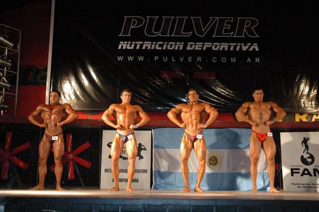 2008 Campeonato Argentino FAM / IFBB