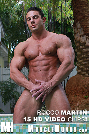 MuscleHunks Rocco Martin