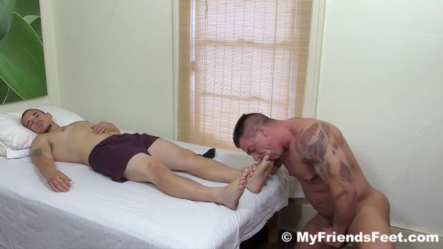 Braden Fucks Sleepy Adam's Feet