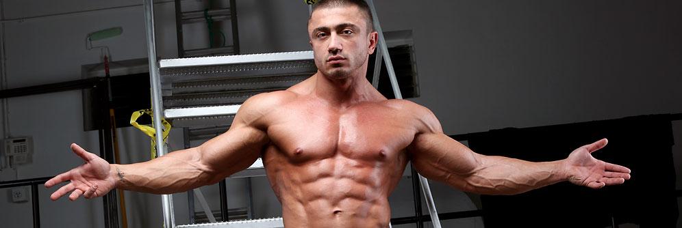 MuscleHunks Laurent Le Gros