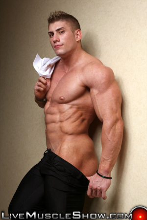 Live Muscle Show Sven Gronstrom