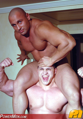 Powermen Yummi Cosmin and Yakov Mukileck
