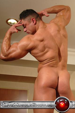 Live Muscle Show Ben Johnson