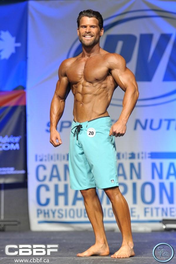 Trevor Ryan - 2nd Mens Physique Class A