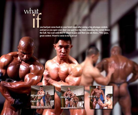 Muscle Worship Swoe and Daryl Gee