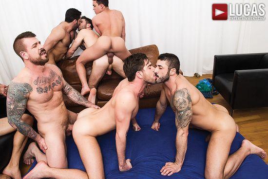 Rocco Steele's Breeding Party, Scene 3