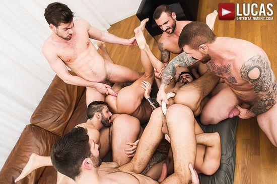 Rocco Steele's Breeding Party, Scene 2