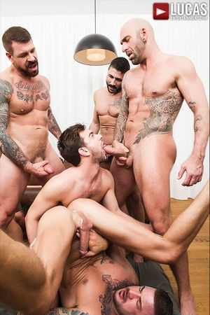 Rocco Steele's Breeding Party, Scene 2