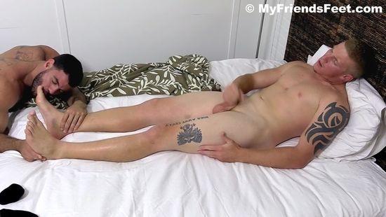 Ricky Larkin Worships Conrad's Sexy Feet