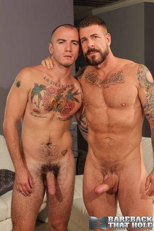Rocco Steele and Cam Christou