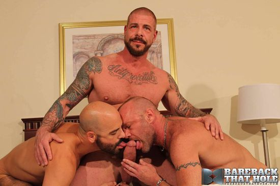 Rocco Steele, Chad Brock and Adam Russo