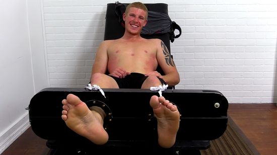 Redhead Conrad Chesney Tied Up and Tickle Tortured
