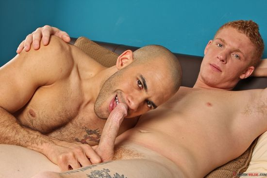Austin Wilde and Connor Chesney