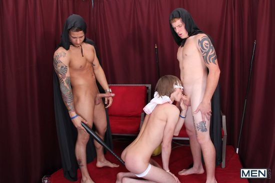 Connor Chesney, Tanner Stark and Kris Jameson