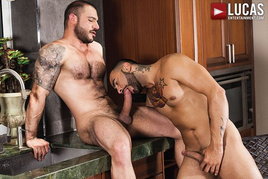 Rikk York Gives Up His Hole To Pedro Andreas