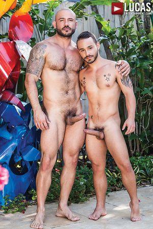 Rafael Lords Bottoms Bareback For Pedro Andreas