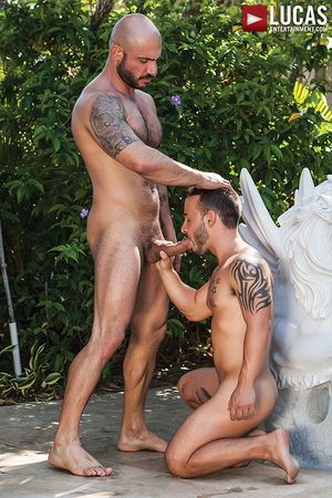 Rafael Lords Bottoms Bareback For Pedro Andreas