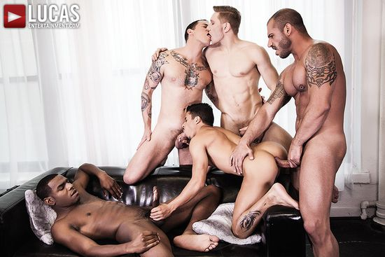 Pedro Andreas, Armond Rizzo, Max Cameron, Magic Wood and Comrad Blu